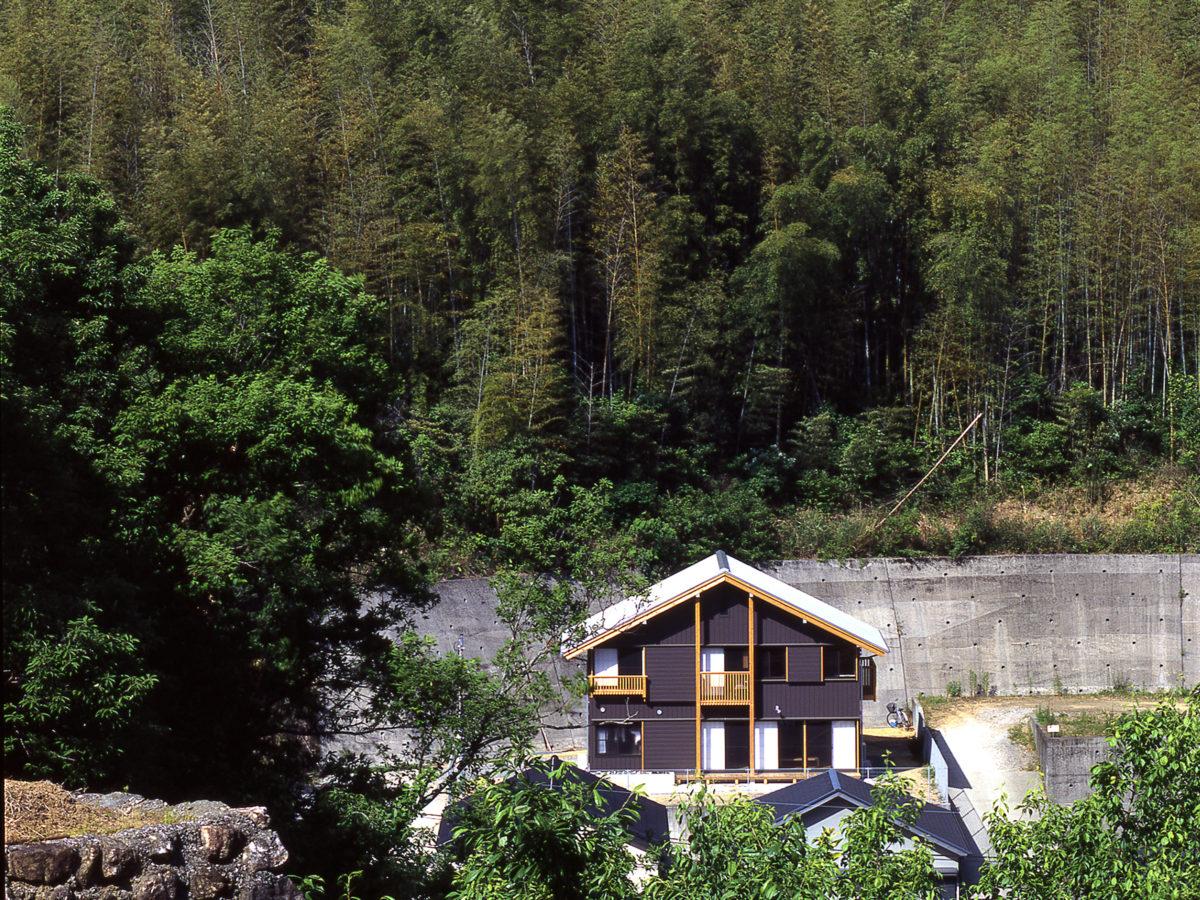 坂の上の家