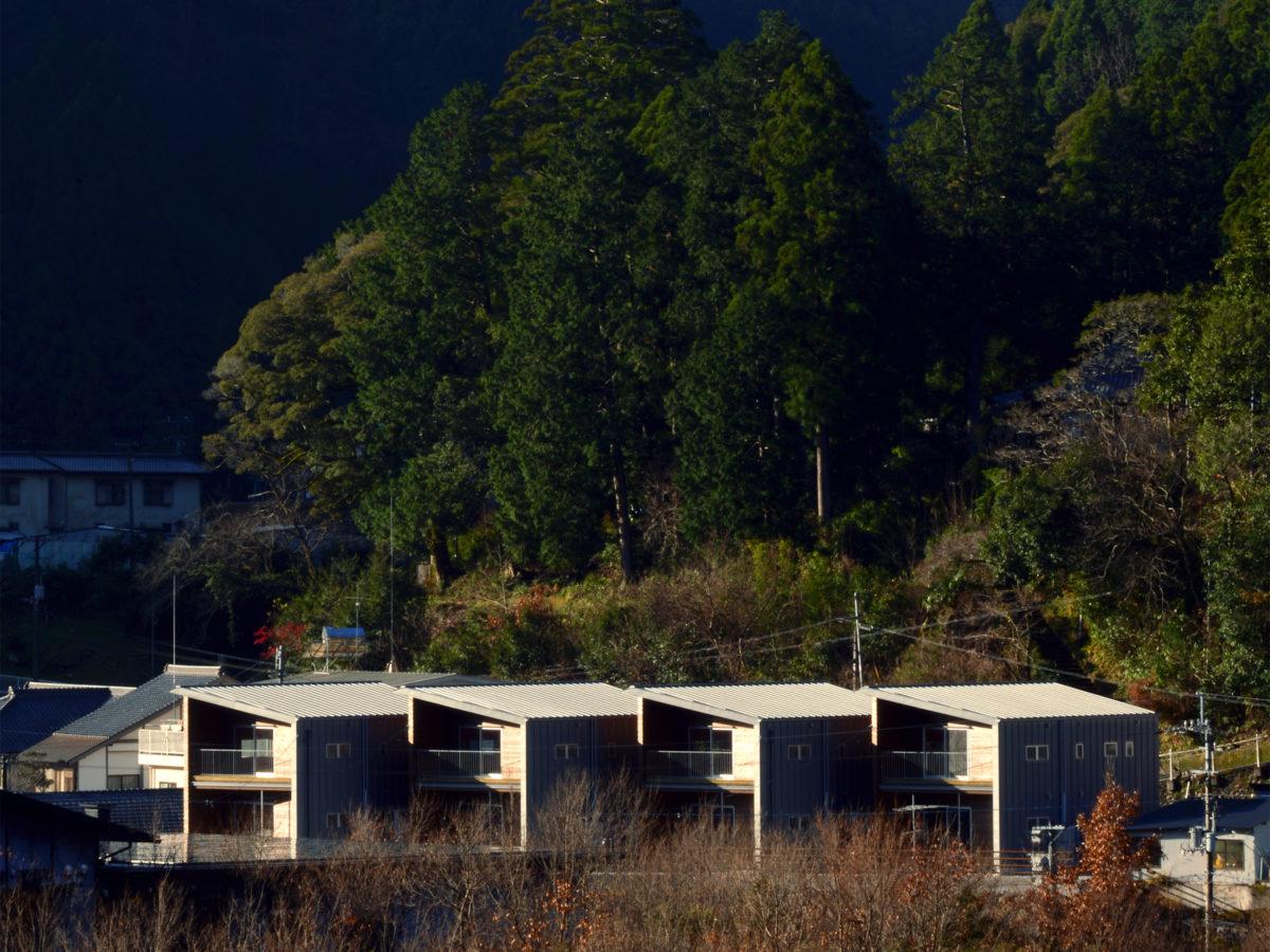 馬路村村営住宅